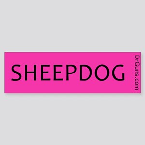 SHEEPDOG-PNK Bumper Sticker