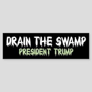 Drain The Swamp Bumper Sticker