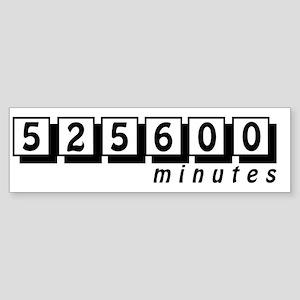 525600 Bumper Sticker