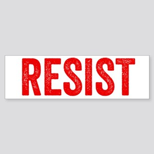 Resist Hashtag Anti Donald Trump Bumper Sticker