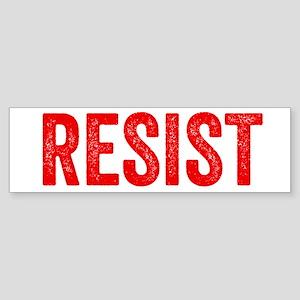 Resist Hashtag Anti Donald Trump Bumper Sticker