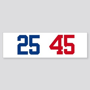 25th Amendment Trump Sticker (Bumper)