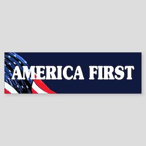 America First Bumper Sticker