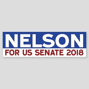 Bill Nelson Bumper Sticker