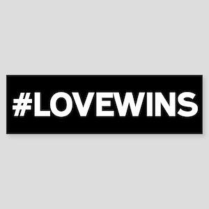 #LOVEWINS Bumper Sticker