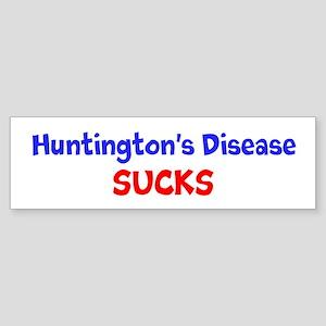 Huntington's Disease Sucks! Bumper Sticker