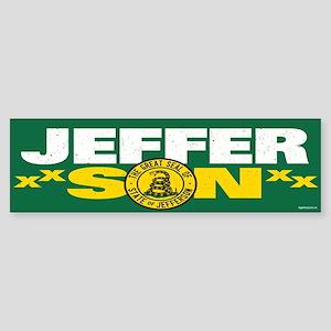State of Jefferson - DTOM Sticker (Bumper)