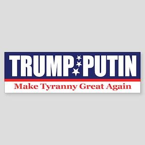 Trump Putin 2016 Bumper Sticker