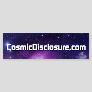 Cosmic Disclosure Bumper Sticker