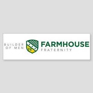 Farmhouse Fraternity FH Sticker (Bumper)