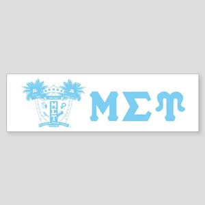 Mu Sigma Upsilon Sorority Letters and Symbol Bumpe