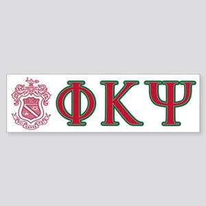 Phi Kappa Psi Fraternity Crest an Sticker (Bumper)