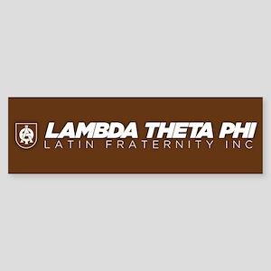 Lambda Theta Phi Logo Sticker (Bumper)