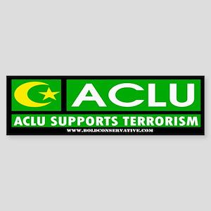 ACLU Supports Terrorism Bumper Sticker