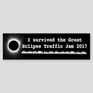 I Survived Great Solar Eclipse 2017 Bumper Sticker