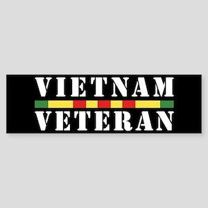 Vietnam Veteran Sticker (Bumper)