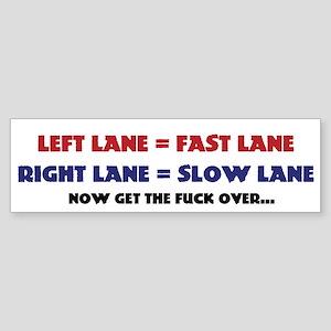 left lane right lane (Bumper)