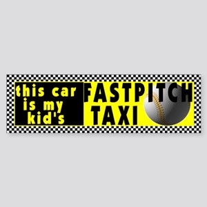 Fastpitch Softball Bumper Sticker