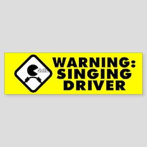 Karaoke Therapy Bumper Sticker