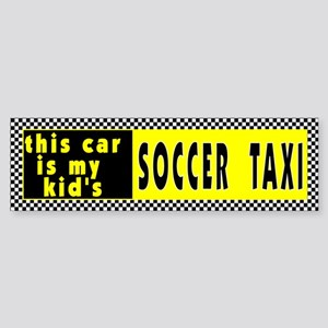 Kid's Soccer Bumper Sticker