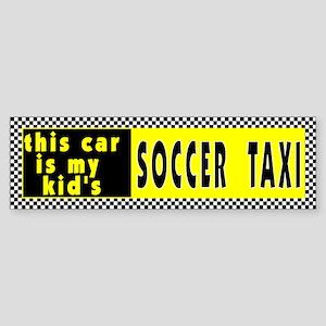 Kid's Soccer Bumper Sticker