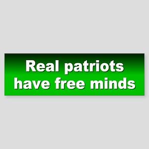 free minds... sticker