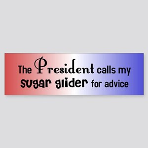 Sugar Glider Presidential Advisor Bumper Sticker