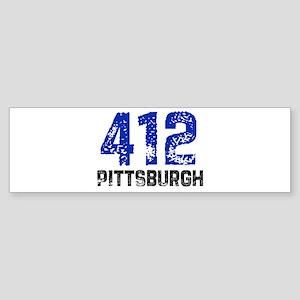 412 Bumper Sticker