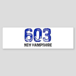 603 Bumper Sticker