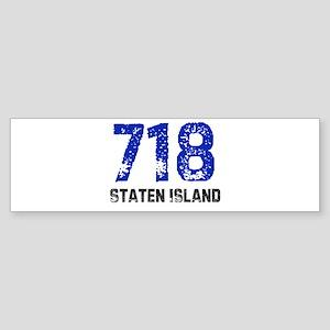 718 Bumper Sticker