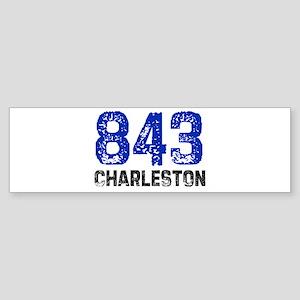 843 Bumper Sticker