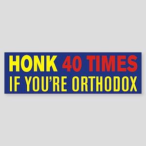 Orthodox Bumper Sticker