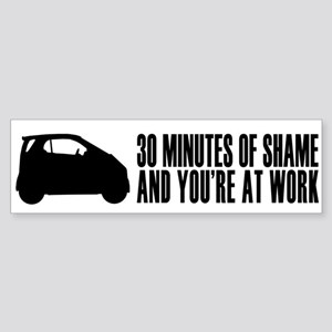 30 Minutes of Shame Bumper Sticker