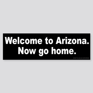 Welcome to Arizona Sticker (Bumper)