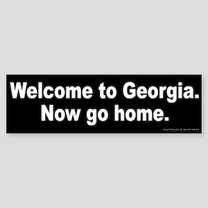 Welcome to Georgia Sticker (Bumper)