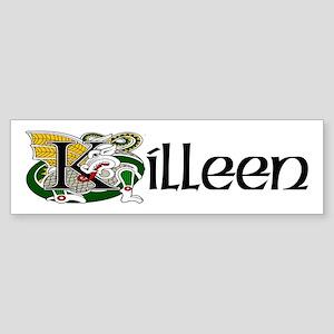 Killeen Celtic Dragon Bumper Sticker
