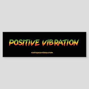Rasta Gear Positive Vibration Bumper Sticker