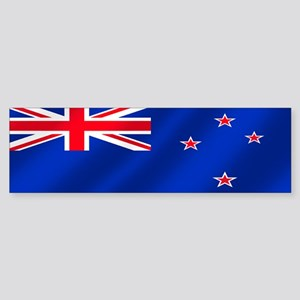 New Zealand Soccer Sticker (Bumper)