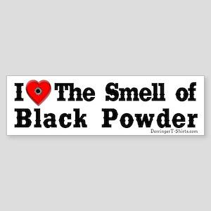 Smell of Black Powder Bumper Sticker