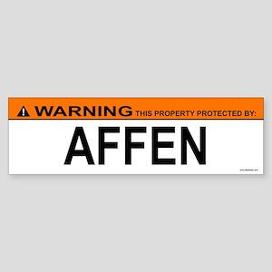 AFFEN Bumper Sticker