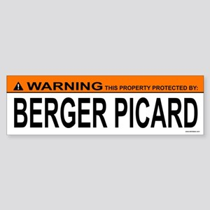 BERGER PICARD Bumper Sticker