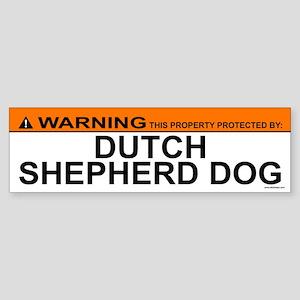 DUTCH SHEPHERD DOG Bumper Sticker