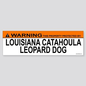 LOUISIANA CATAHOULA LEOPARD DOG Bumper Sticker