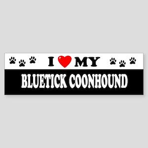 BLUETICK COONHOUND Bumper Sticker