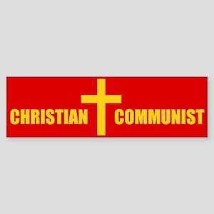 Christian Communist Bumper Sticker