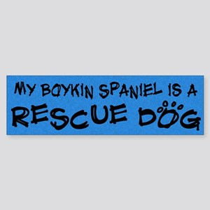 Rescue Dog Boykin Spaniel Bumper Sticker