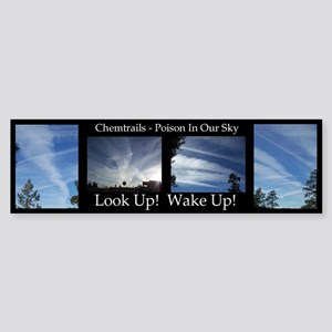 Chemtrails Bumper Sticker