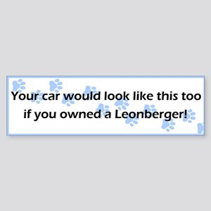 Your Car Leonberger Bumper Sticker