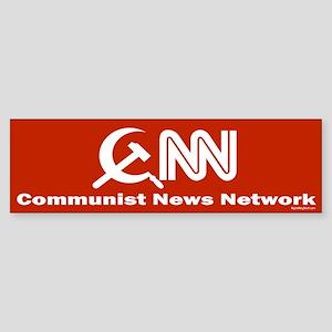 CNN - Commie News Network Bumper Sticker