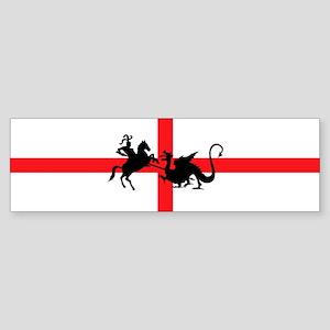 St George's Day Bumper Sticker